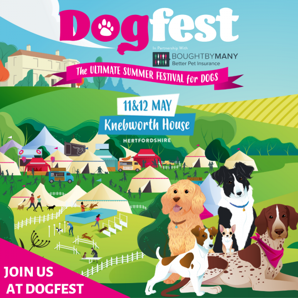 Tell us why you love your dog and you could win tickets to DogFest!