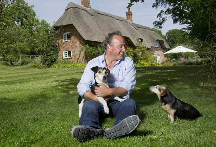 Travers Nettleton with Archie and Bruno